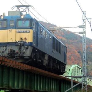 12/5 ロクヨン機関車を下から見上げて…