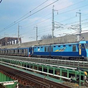 1/20 甲種輸送・相模鉄道10000系10701F編成