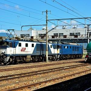 9/5 篠ノ井線の臨8467レの重連