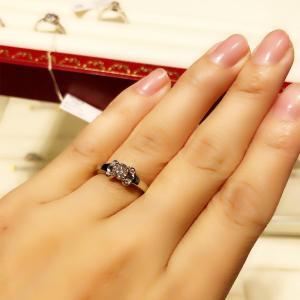 【婚約指輪さがし その3.Cartier(カルティエ)】