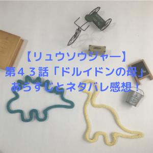【リュウソウジャー】第43話「ドルイドンの母」あらすじとネタバレ感想!ゲストに永井大が出演!