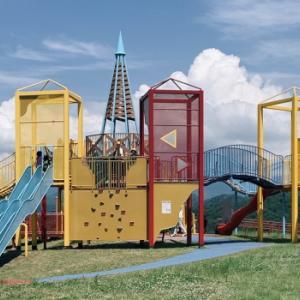 立山町総合公園 駐車場・トイレ・遊具情報~巨大アスレチックが楽しい!