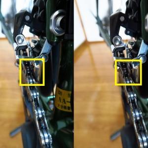 ロードバイク超初心者的 チェーンからの異音 ~トリム操作を使いこなす~