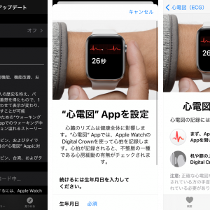 Apple Watch 日本でも心電図アプリケーション利用可能
