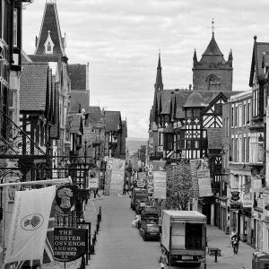イギリスの旅(モノクロ版) チェスター(Chester) 6