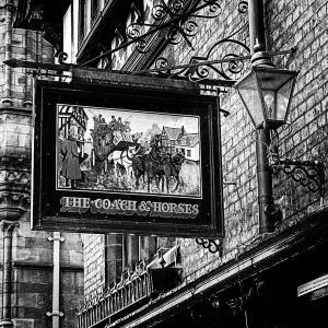 イギリスの旅(モノクロ版) チェスター(Chester) 8