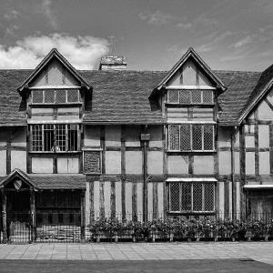 イギリスの旅(モノクロ版) ストラトフォード・アポン・エイボン(Stratford-upon-Avon) 1
