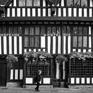 イギリスの旅(モノクロ版) ストラトフォード・アポン・エイボン(Stratford-upon-Avon) 4