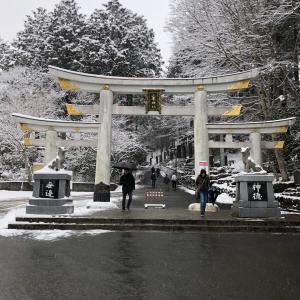 三峯神社へ行って来ました!