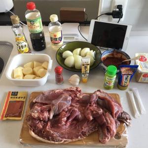 休日のお料理➁ ~イノシシ肉のカムジャタン~