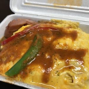 新鹿沼駅前、昔ながらの街の定食屋さん「食工房ニューかねこ」さんでテイクアウト 隠し味が決め手、トマトソースのオムライスはあれにそっくりな味