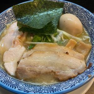 9月10日オープン!「麺屋 㐂助」 アゴ出汁香る爽やかな塩ラーメン「あご出汁中華そば」を食べてきた
