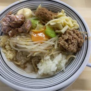 大平町に「向井屋」という新店がオープン ボリュームたっぷりG系まぜそばを食べてきた