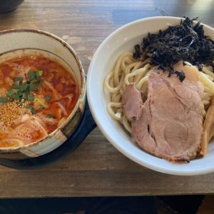 真岡市の人気ラーメン店「くろまる」に初訪問 辛さ最大!背油と岩のりの辛塩つけ麺を食べてきた