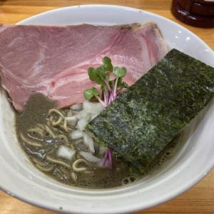 栃木市沼和田町「めんや天夢」 まるでセメント!?煮干し100%ヤバニボ煮干しラーメン