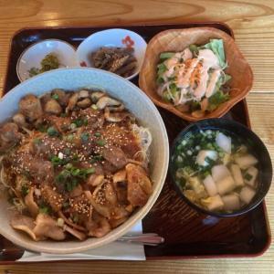 さくら市喜連川「メリーゴーランド」 デカ盛り!焼肉3兄弟丼を食べてきた