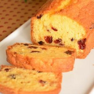 クランベリーのパウンドケーキ