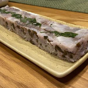 イサキの簡単押し寿司 と 4つの失敗