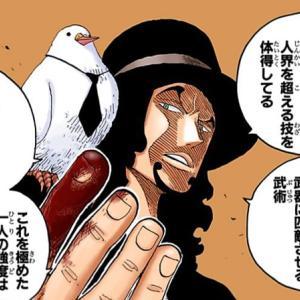 【ワンピース】六式って戦うための技術って感じがして好き