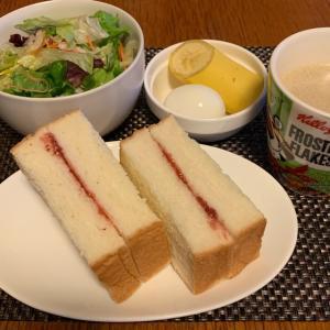 【孤独の自作グルメ】乃が美の食パンを使ってジャムサンドモーニング