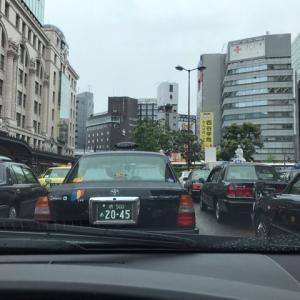 今日はビビるくらい引き運に恵まれ忙しく走り回った:2020.7.13 月曜日【大阪昼勤タクシー営業】