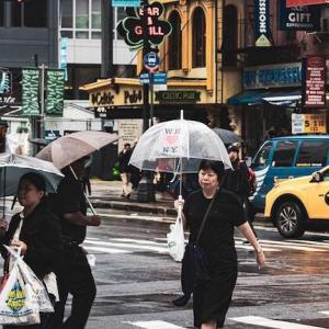 そこそこ恵みの雨となった土曜日の営業