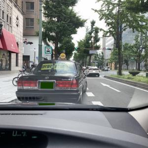 あまりにも低単価過ぎて8時間ルールにより強制終了:6月17日(木)大阪昼勤タクシー営業