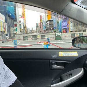 51歳になって最初の乗務は夕方から盛り返しはしたけれど・・・:7月10日(土)大阪昼勤タクシー営業