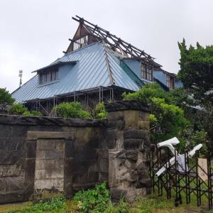 台風15号で被災した千葉県富津へ