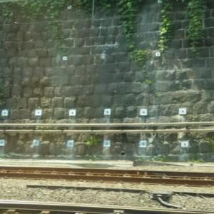 JR東日本の石積補強工事