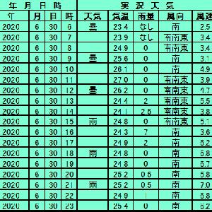 6月30日【東京】