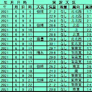 6月9日【東京】