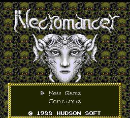 QUEST-00030 PCエンジン初のRPGは、狂気の宴「邪聖剣ネクロマンサー」