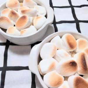 【簡単スイーツ】マシュマロって焼くと美味しいですよね〜♡