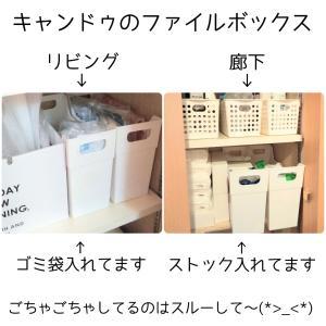 ★キャンドゥ★大きめファイルボックス 100均No.1!