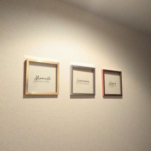 ★ダイソー★プッシュピンを使って壁飾り♡