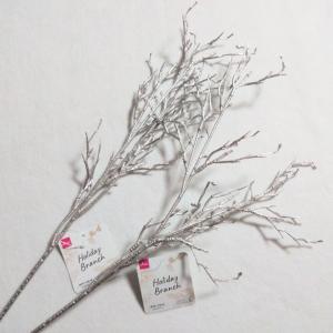 ★ダイソー★クリスマスにピッタリな枝ツリー