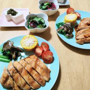 【大地を守る会】新鮮野菜たっぷりでヘルシーな晩ごはん♪