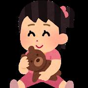 1歳10ヶ月の娘はとにかく世話好きである。姉を見て学習?親の真似?