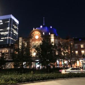 金曜の夕方から東京へ