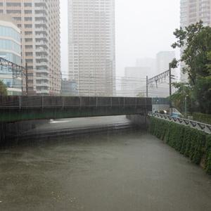 台風19号(五反田エリア)レポート