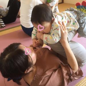 【町田 槙の家】ベビーヨガで免疫力UP!2019年11月1日(金)