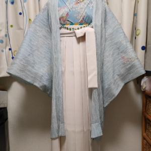 単衣着物で初夏のさわやか袴コーデ