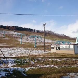 岩見沢萩の山市民スキー場(11/16現在)