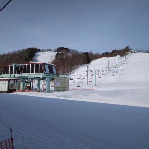 萩の山市民スキー場も明日でクローズ