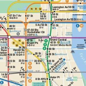 治安を気にするビビりが地下鉄でニューヨーク市内に向かうお話
