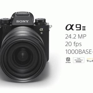 プロ仕様の最高峰カメラ Sony α9 IIがついに発表 2019年10月に発売開始