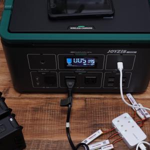 Joyzis 500W 最大11台まで同時充電対応 大容量144000mAhバッテリー搭載のポータブル電源