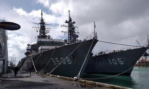 ニュージーランドの港に自衛艦が現る!?