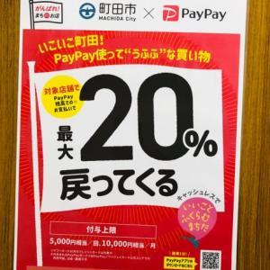 12月1日開始 町田 PayPayキャンペーン
